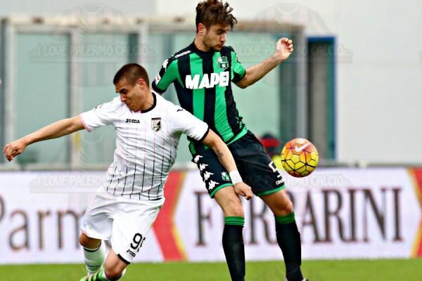 Serie A: poker del Sassuolo, Palermo battuto 4-1