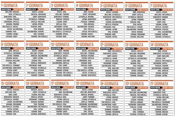 Calendario Verona Serie B.Gazzetta Dello Sport Ecco Il Calendario Della Serie B