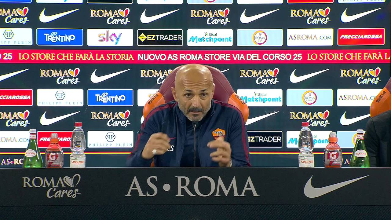 VIDEO: ecco la conferenza stampa di Spalletti in occasione di Roma-Palermo