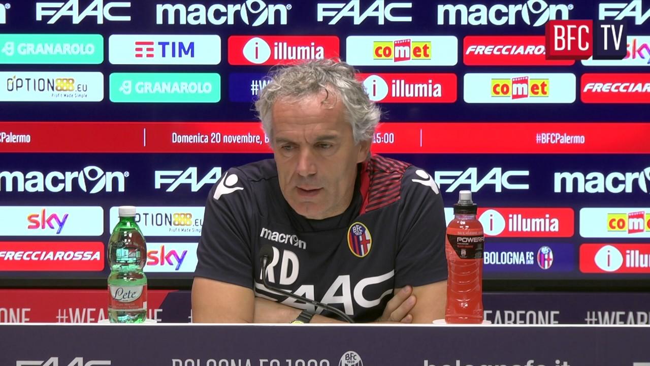 Donadoni: «Attenzione al Palermo» (VIDEO)