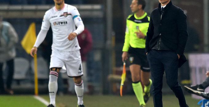 CORINI ANDELKOVIC Serie A/Genoa-Palermo