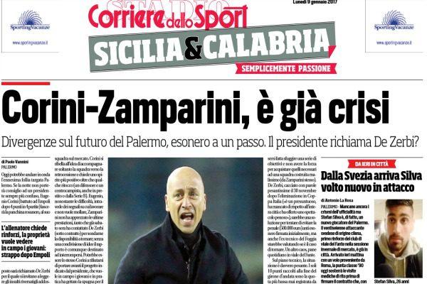 Serie A, Palermo: Zamparini stanco di Corini, è già addio?