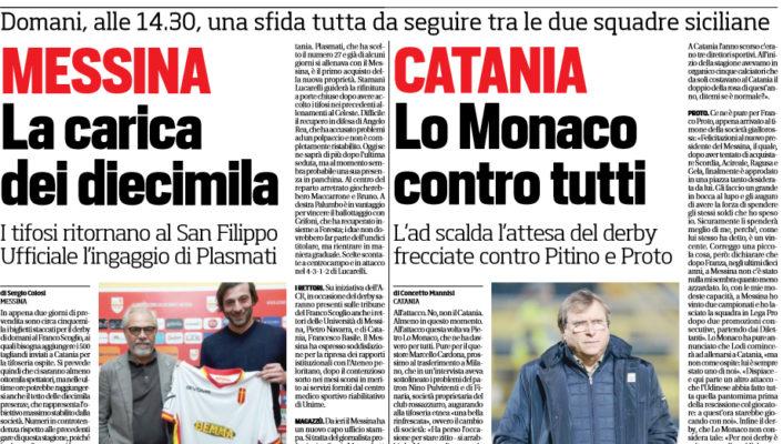 Catania, Lo Monaco: