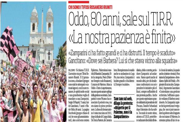 Zamparini: In quindici anni ho speso 100 mln per il Palermo