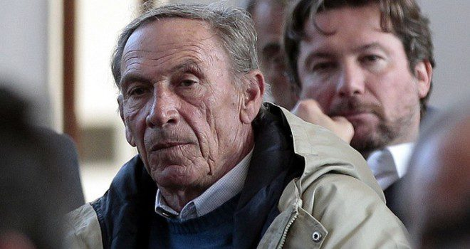 """FLORENCE, ITALY - MARCH 07: Zdenek Zeman manager of Lugano attends the """"Panchina D'oro season 2014-2015""""at Coverciano on March 7, 2016 in Florence, Italy.  (Photo by Gabriele Maltinti/Getty Images)"""