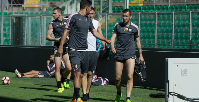_allenamento palermo ilovepalermocalcio andelkovic nestorovski