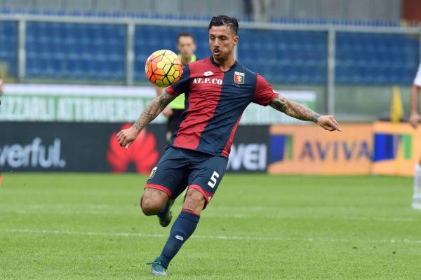Valerio Andreani 29/11/2015 Città Genova Sport Calcio Genoa vs Carpi Campionato di Calcio Serie A TIM 2015 2016- Stadio