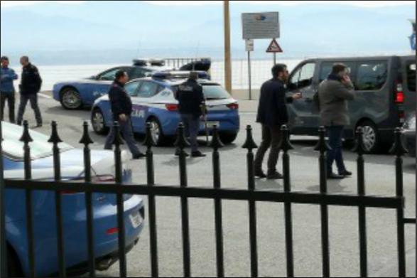 Scontri tra tifosi Catania-Cavese agli imbarcaderi