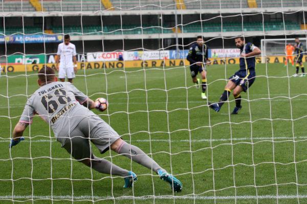Solo 1-1 contro il Chievo: il Palermo scivola in Serie B
