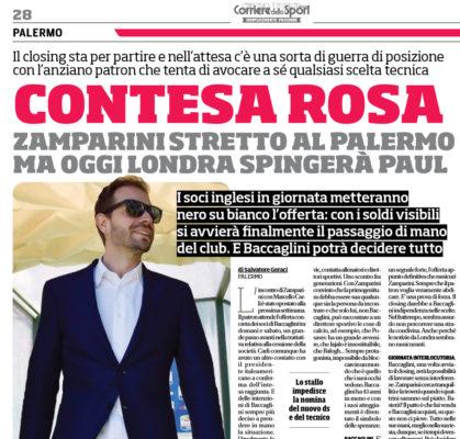 Palermo calcio, Iva non versata Indagato il patron Zamparini