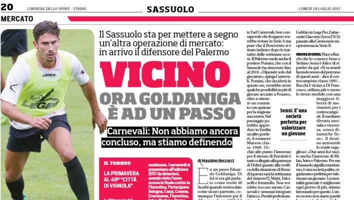 Calciomercato Palermo: oggi incontro per il difensore Giuseppe Bellusci. Goldaniga…