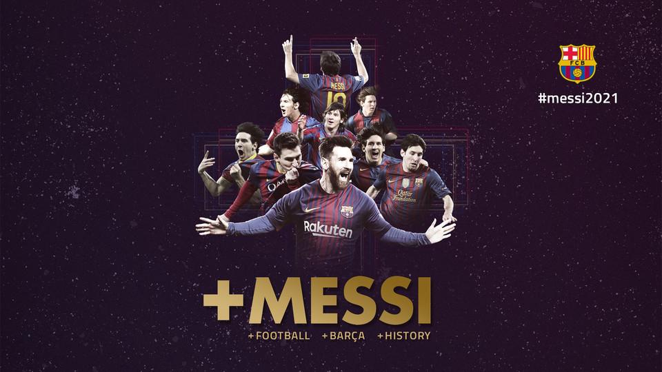Lionel Messi rinnova con il Barcellona
