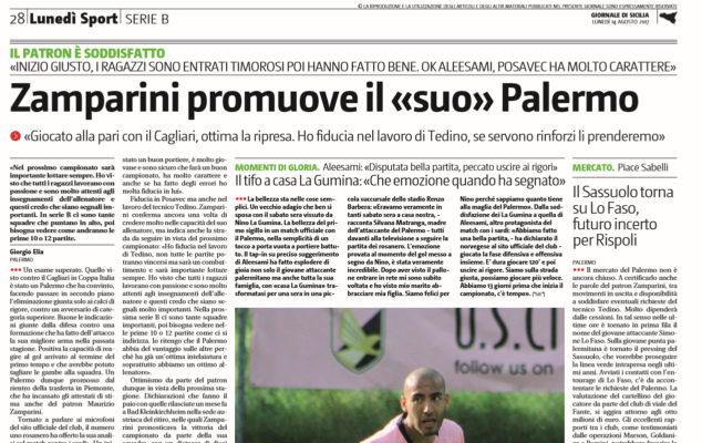 Palermo, Zamparini: