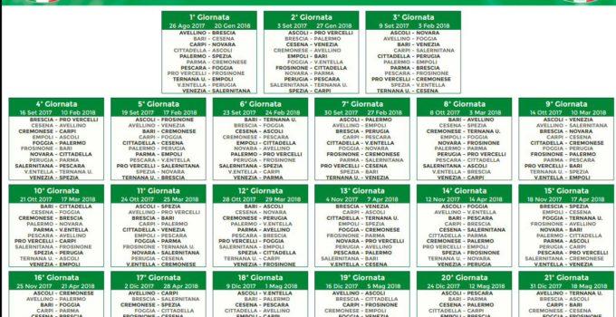 Calendario Serie B 18 19.Calendario Ilovepalermocalcio