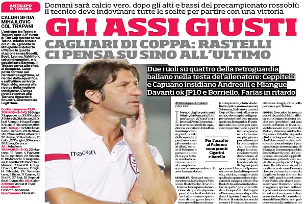 Cagliari, l'arma in più è Cragno: 'Juve grande stimolo'