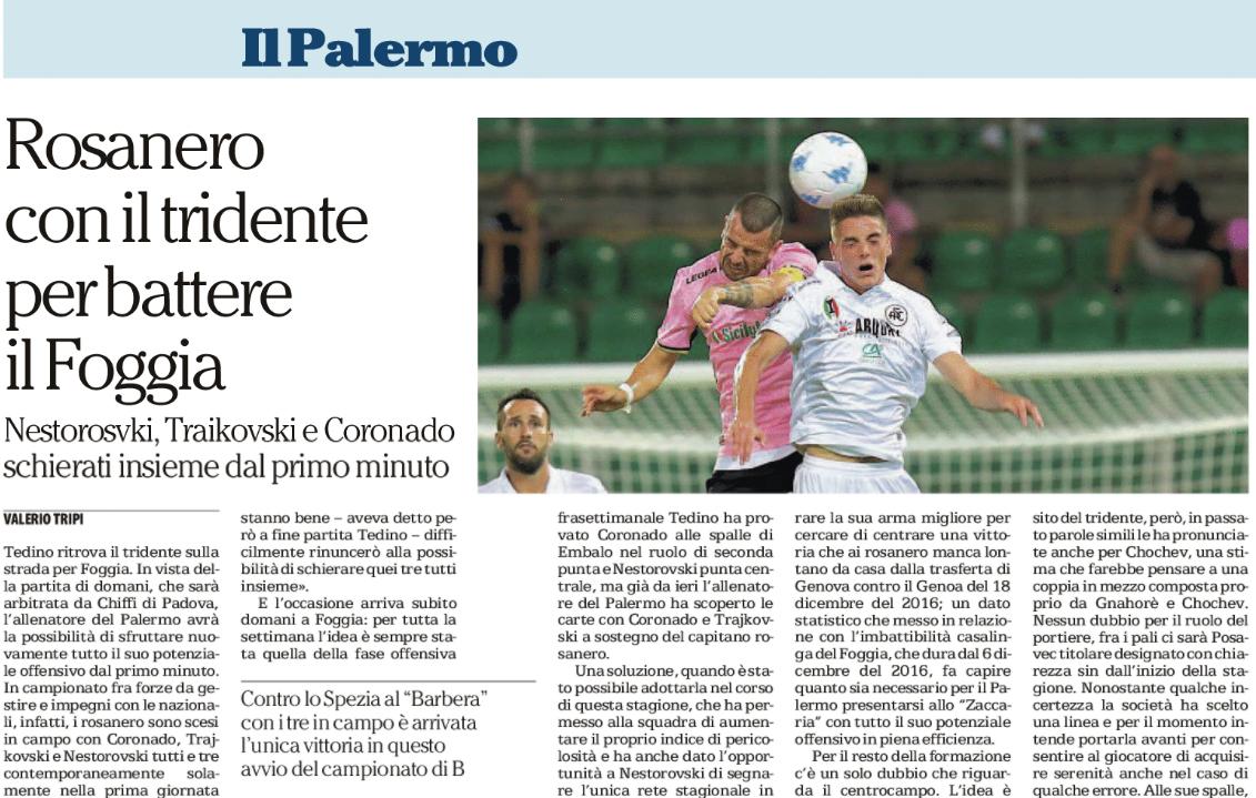 Qui Palermo - Tedino: