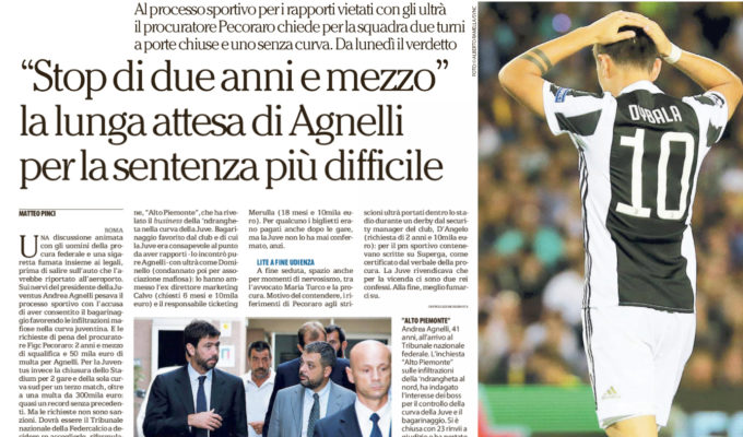 Juventus, caso biglietti: inizia il processo al presidente Agnelli