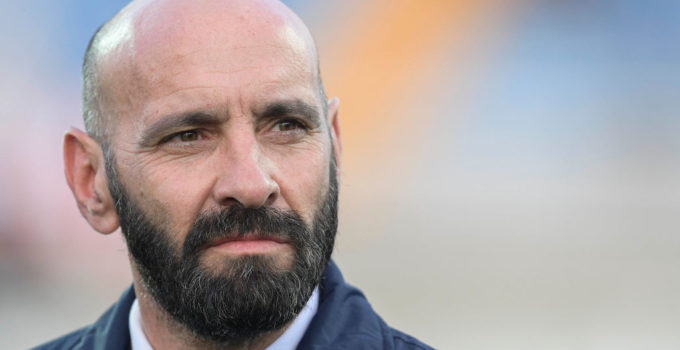 PESCARA, ITALY - APRIL 24:  New AS Roma sporting Director Monchi before the Serie A match between Pescara Calcio and AS Roma at Adriatico Stadium on April 24, 2017 in Pescara, Italy.  (Photo by Luciano Rossi/AS Roma via Getty Images)