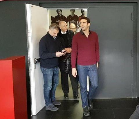 Kakà apre al Milan:
