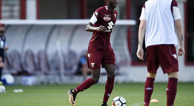 Foto LaPresse - Fabio Ferrari 16/08/2017 Torino (Italia) Sport  ESCLUSIVA TORINO FC Sadiq Umar, nuovo giocatore del Torino Fc.