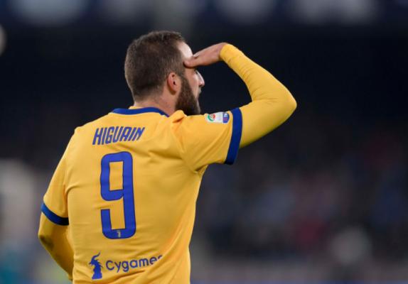 Shock Higuain: