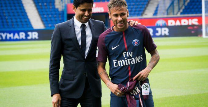 Presentazione Neymar Al Khelaifi