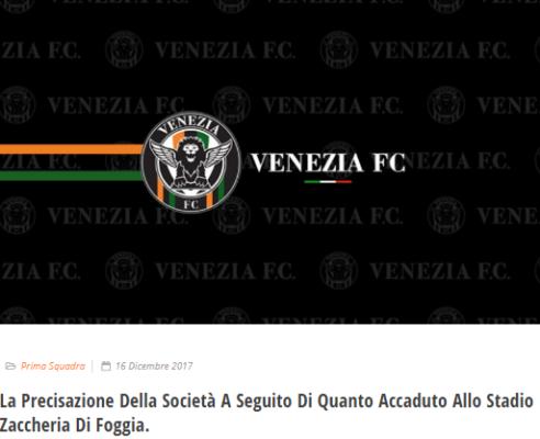 Foggia-Venezia, finale teso: diverbio tra dirigenti in tribuna, intervento della polizia