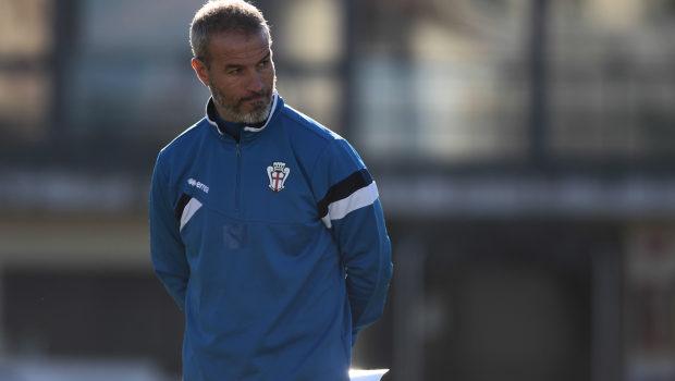 Foto Ivan Benedetto 17-12-2017 Vercelli - Italia Sport Calcio Primo allenamento Gianluca Atzori Nella foto: