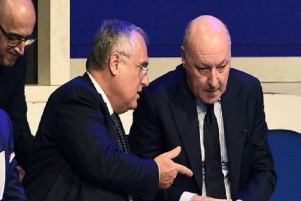 La Repubblica: rissa non solo verbale tra Marotta e Lotito in Lega