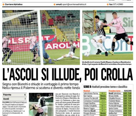 Il Palermo ritrova il sorriso Ascoli battuto al Barbera 4-1