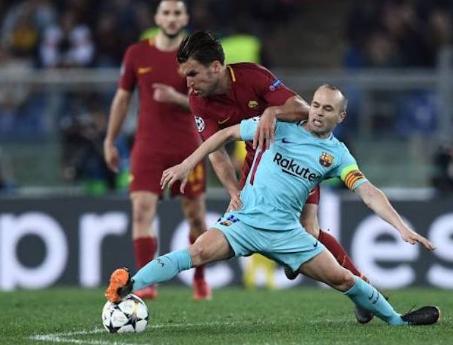 Barcellona: nel mirino calciatore della Lazio per sostituire Iniesta
