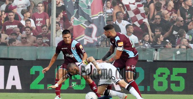 SAL – 25 08 2018 Salerno Stadio Arechi. Salernitana – Palermo Serie B. Nella foto schiavi. Foto Tanopress