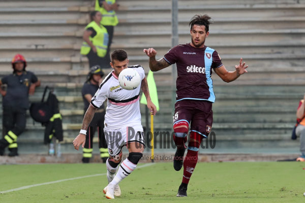 SAL – 25 08 2018 Salerno Stadio Arechi. Salernitana – Palermo Serie B. Nella foto casasola. Foto Tanopress