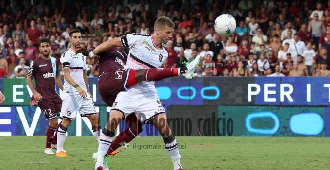 SAL – 25 08 2018 Salerno Stadio Arechi. Salernitana – Palermo Serie B. Nella foto jallow. Foto Tanopress