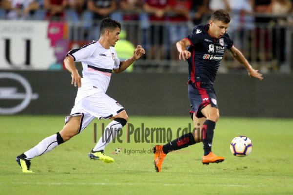 Coppa Italia - Cagliari vs Palermo barella fiordilino