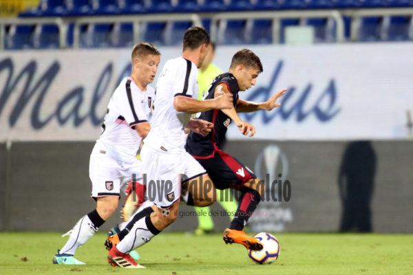 Coppa Italia - Cagliari vs Palermo barella murawski