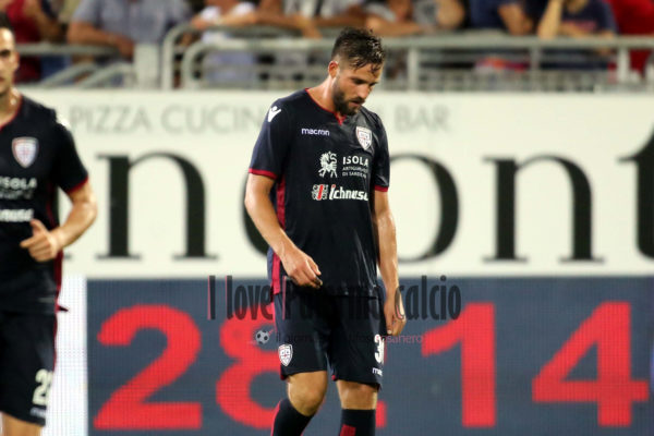 Coppa Italia - Cagliari vs Palermo pavoletti