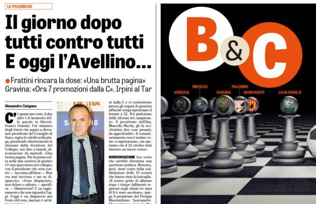 """2f453adc6 L'edizione odierna de """"La Gazzetta dello Sport"""" ha analizzato la situazione  relativa al caos in serie B. Ecco quanto riportato dalla rosea:"""