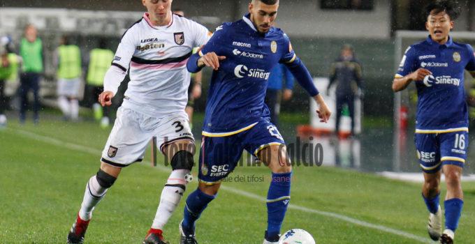 Hellas Verona vs Palermo haas