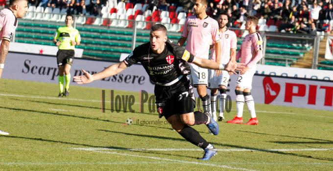 Padova vs Palermo bonazzoli