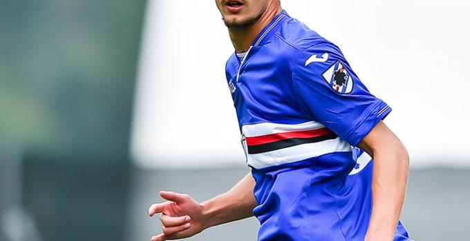 Temù (Brescia), 14/07/2018 Sampdoria/Ritiro 2018-19 - Sellero Novelle-Sampdoria (Amichevole) Gabriele Rolando