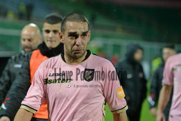 Palermo, lo sfogo di Bellusci: