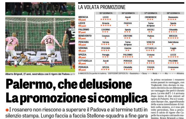 Palermo: a rischio il tecnico Stellone