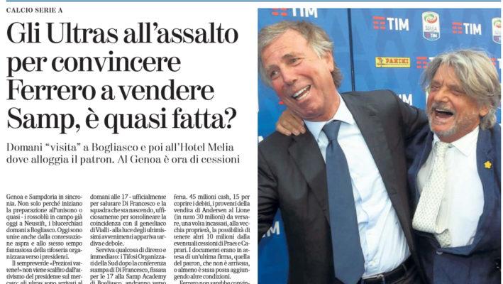 Palermo, Ferrero: