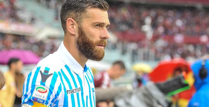 Mirco Antenucci (SPAL) during the Serie A football match between Torino FC and SPAL at Stadio Grande Torino on 13th May, 2018 in Turin, Italy.
