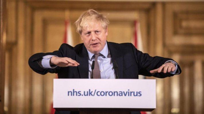 Coronavirus Regno Unito, Boris Johnson: