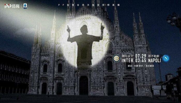 Messi all'Inter: il meme della tv di Suning fa sognare i tifosi