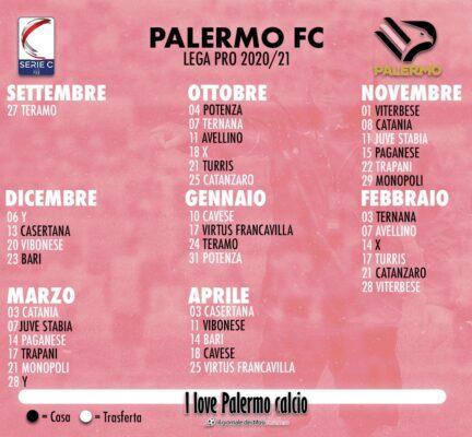 Serie C Il Calendario Completo Del Palermo Ilovepalermocalcio